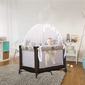 Baby Pack 'N Play and Mini Crib Safety Pop up Tent